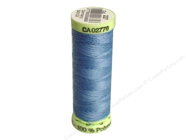 Gutermann Top Stitch Heavy Duty Thread 33 yd. #227 Copenhagen Blue