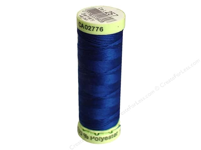 Gutermann Top Stitch Heavy Duty Thread 33 yd. #257 Yale Blue