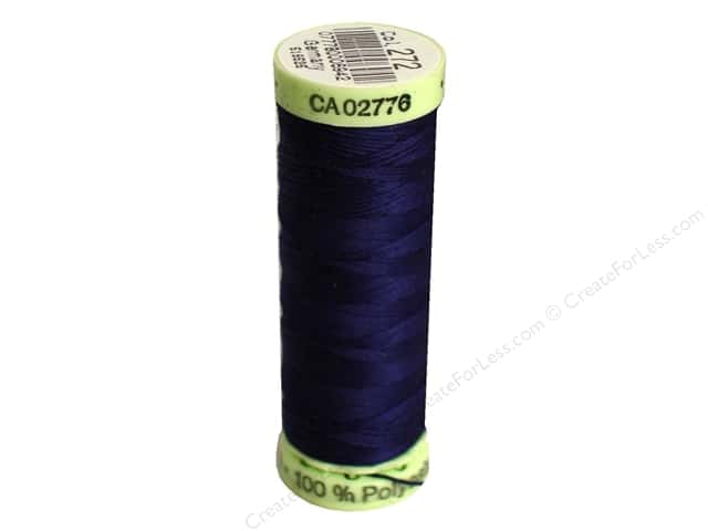 Gutermann Top Stitch Heavy Duty Thread 33 yd. #272 Navy