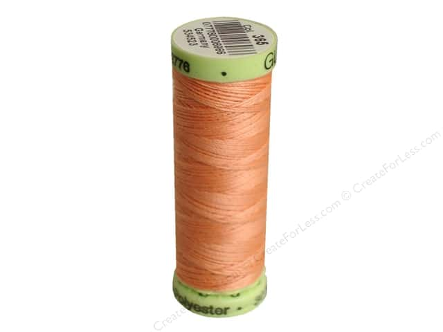 Gutermann Top Stitch Heavy Duty Thread 33 yd. #365 Peach