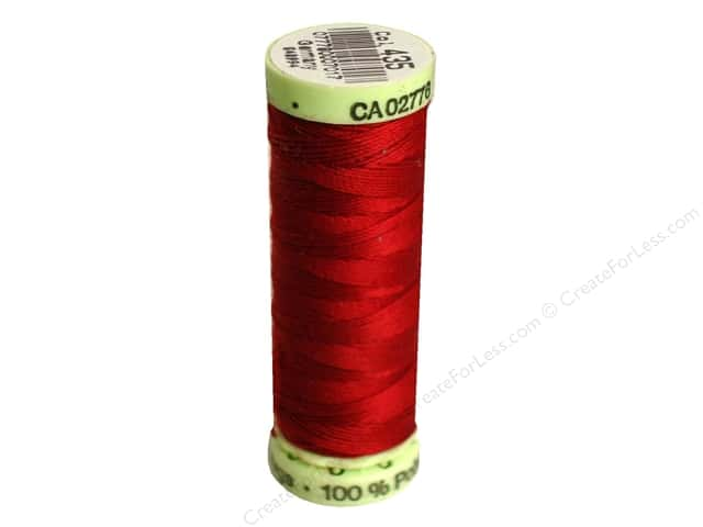 Gutermann Top Stitch Heavy Duty Thread 33 yd. #435 Cranberry