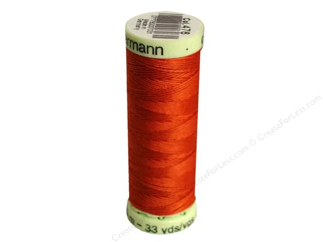 Gutermann Top Stitch Heavy Duty Thread 33 yd. #476 Copper