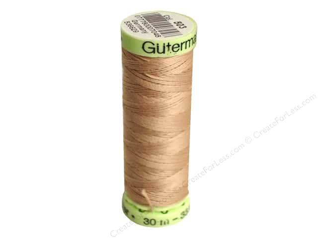 Gutermann Top Stitch Heavy Duty Thread 33 yd. #503 Flax