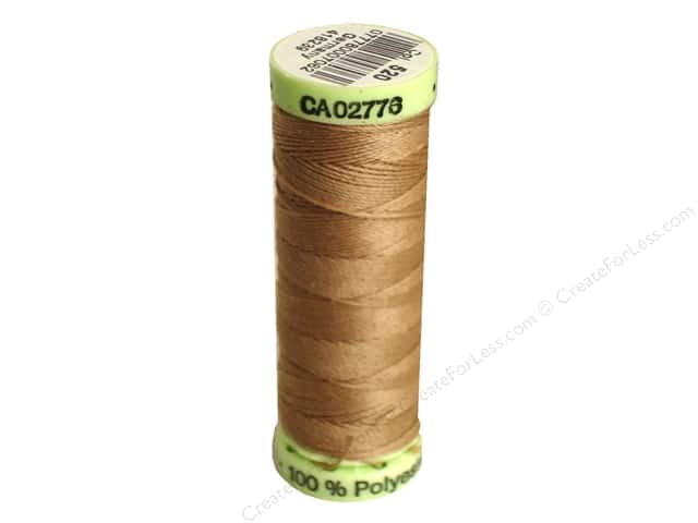 Gutermann Top Stitch Heavy Duty Thread 33 yd. #520 Wheat