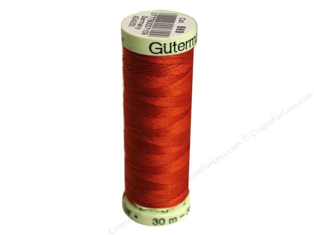 Gutermann Top Stitch Heavy Duty Thread 33 yd. #569 Henna