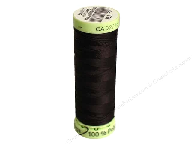 Gutermann Top Stitch Heavy Duty Thread 33 yd. #596 Brown