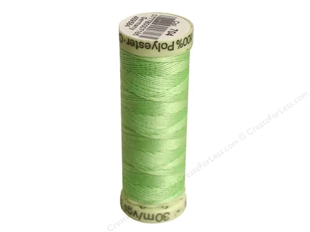 Gutermann Top Stitch Heavy Duty Thread 33 yd. #704 Light Green