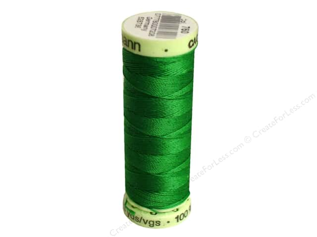 Gutermann Top Stitch Heavy Duty Thread 33 yd. #760 Kelly Green