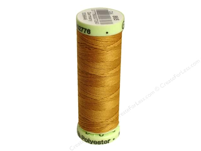 Gutermann Top Stitch Heavy Duty Thread 33 yd. #865 Gold