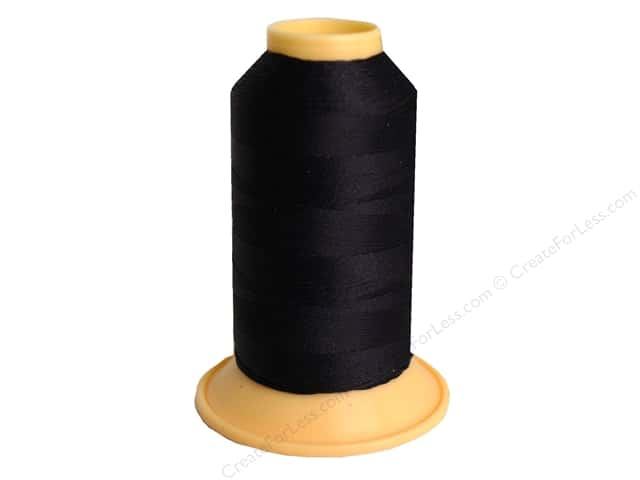 Gutermann Polyester Upholstery Thread 328 yd. #000 Black
