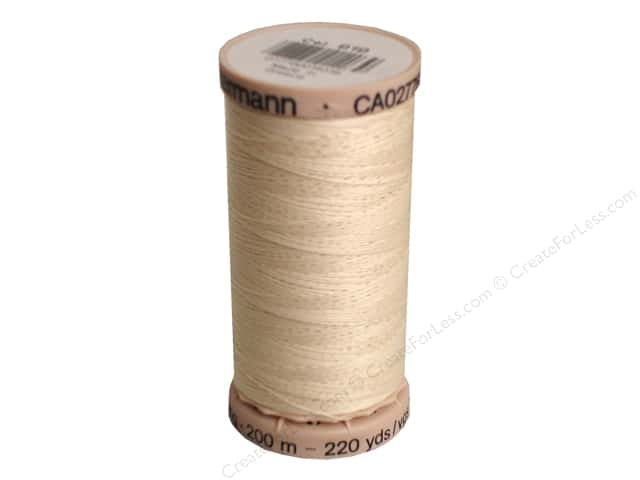 Gutermann Hand Quilting Thread 220 yd. #919 Light Pearl
