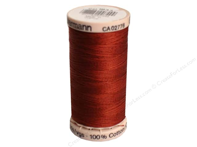 Gutermann Hand Quilting Thread 220 yd. #1833 Rust