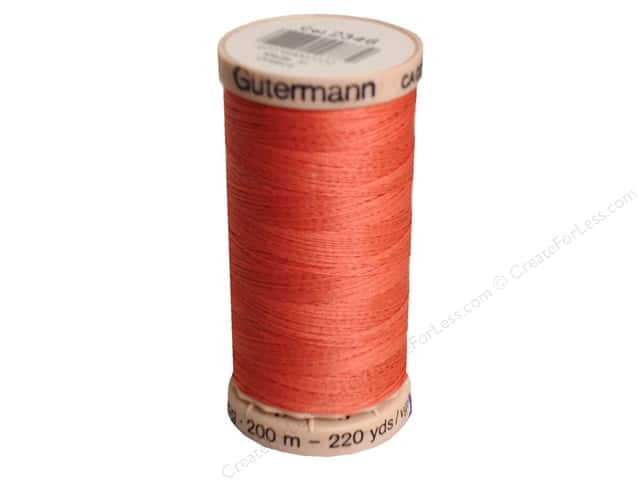 Gutermann Hand Quilting Thread 220 yd. #2346 Strawberry
