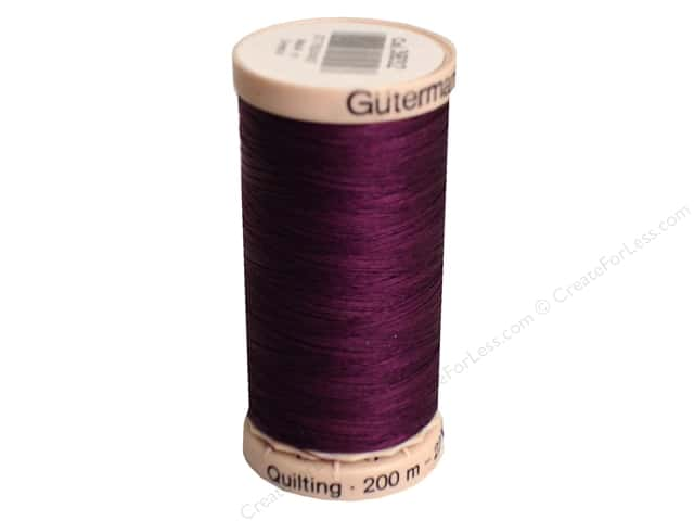 Gutermann Hand Quilting Thread 220 yd. #3832 Grape