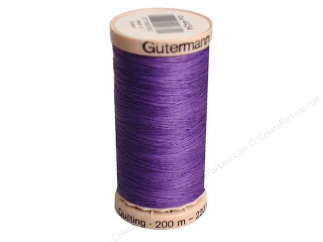 Gutermann Hand Quilting Thread 220 yd. #4434 Parma Violet
