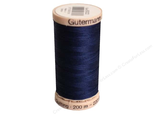 Gutermann Hand Quilting Thread 220 yd. #5322 Navy