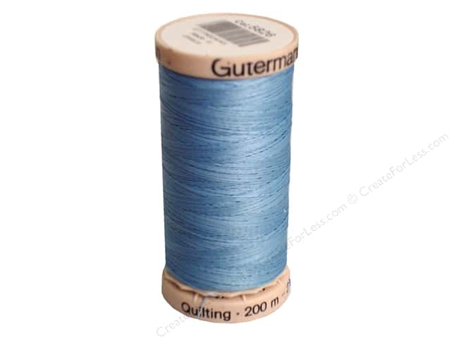Gutermann Hand Quilting Thread 220 yd. #5826 Airway Blue