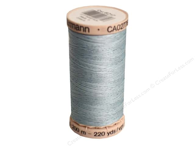 Gutermann Hand Quilting Thread 220 yd. #6217 Light Blue Dawn