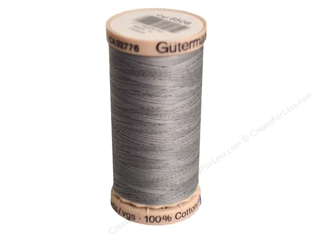 Gutermann Hand Quilting Thread 220 yd. #6506 Medium Grey