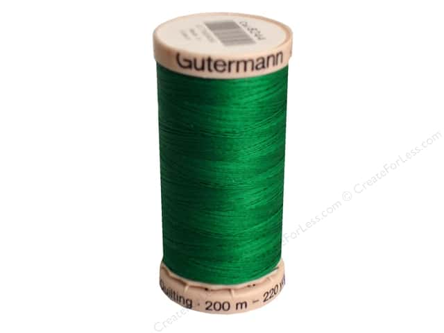 Gutermann Hand Quilting Thread 220 yd. #8244 Magic Green