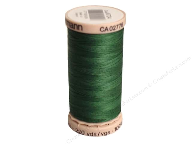 Gutermann Hand Quilting Thread 220 yd. #8724 Forest Green