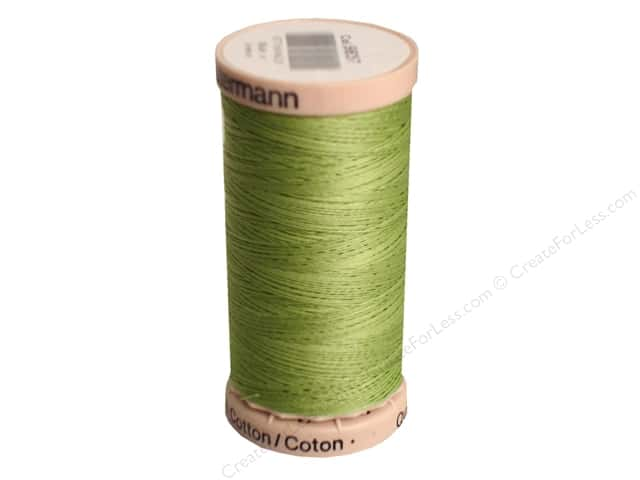 Gutermann Hand Quilting Thread 220 yd. #9837 Light Fern