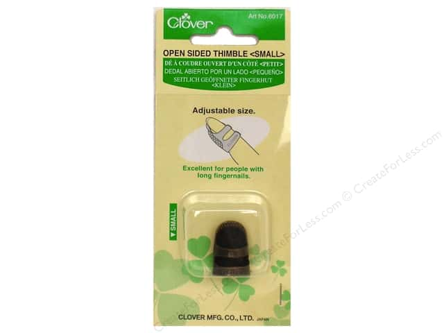 Clover Open Sided Thimble - Small