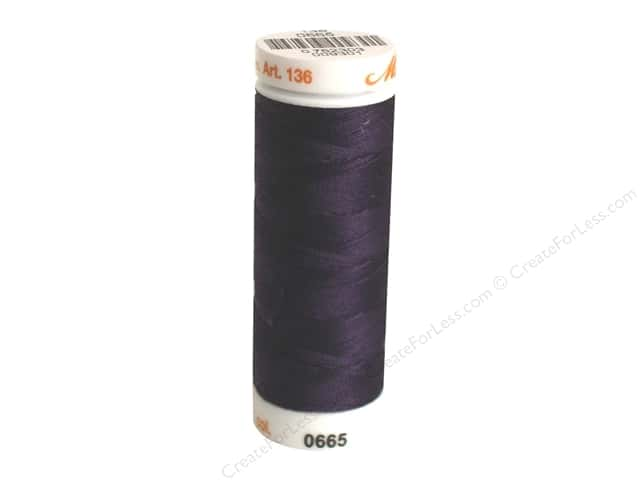 Mettler Silk Finish Cotton Thread 40 wt. 164 yd. #0580 Evening Blue