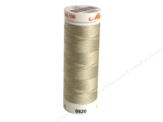 Mettler Silk Finish Cotton Thread 40 wt. 164 yd. #0372 Tantone