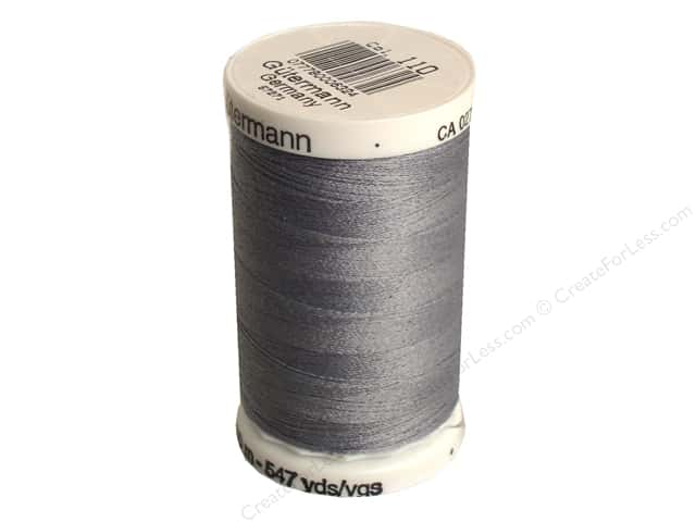 Gutermann Sew-All Thread 547 yd. #110 Slate