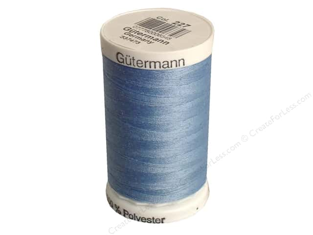 Gutermann Sew-All Thread 547 yd. #227 Copen Blue