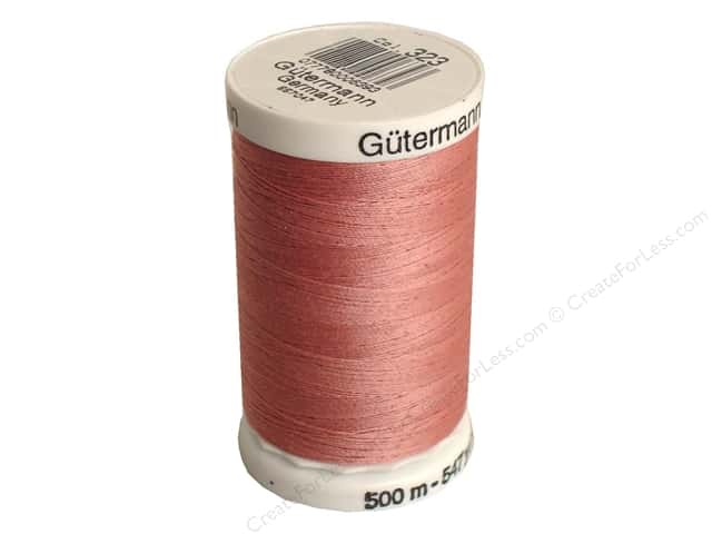 Gutermann Sew-All Thread 547 yd. #323 Old Rose
