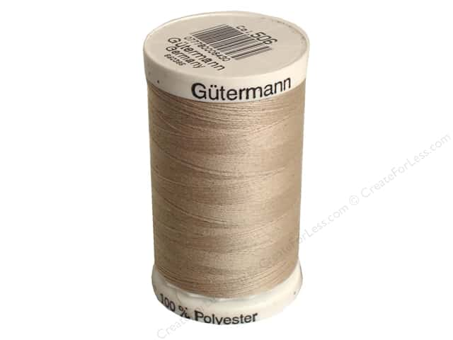 Gutermann Sew-All Thread 547 yd. #506 Sand