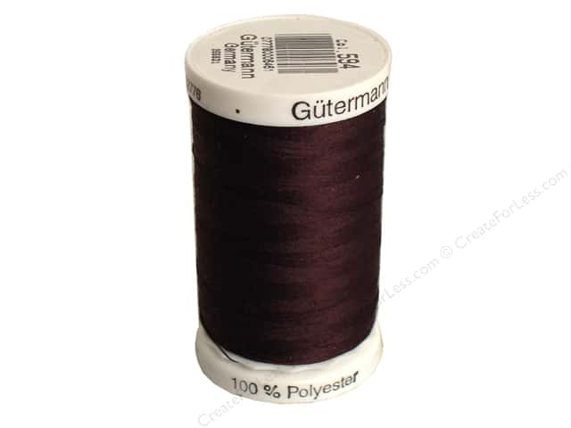 Gutermann Sew-All Thread 547 yd. #594 Walnut