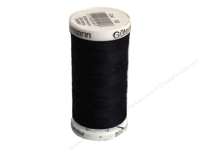 Gutermann Sew-All Thread 273 yd. #010 Black