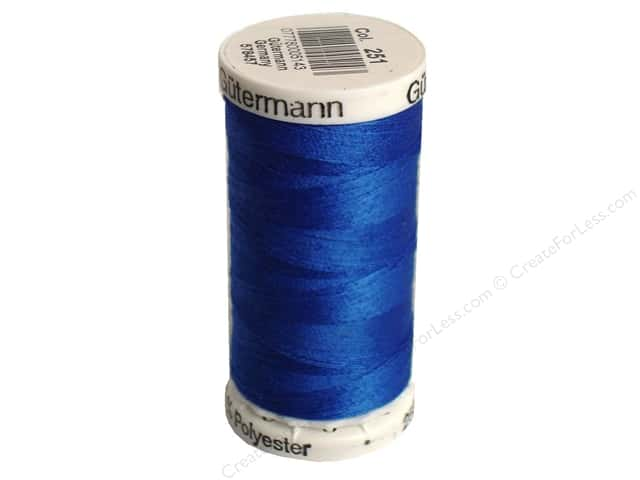 Gutermann Sew-All Thread 273 yd. #251 Cobalt Blue