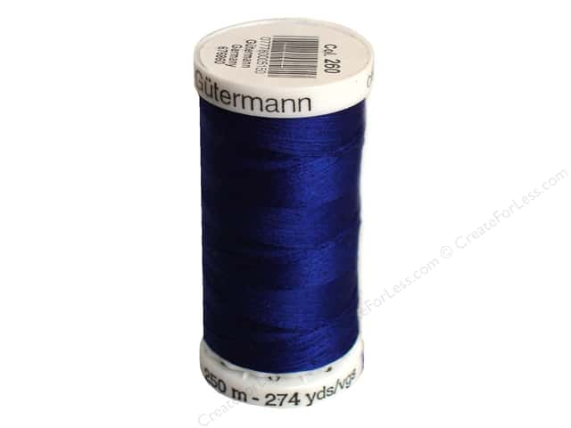 Gutermann Sew-All Thread 273 yd. #260 Royal Blue