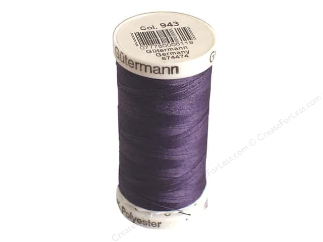 Gutermann Sew-All Thread 273 yd. #943 Eggplant