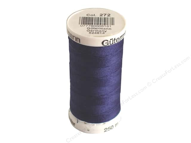 Gutermann Sew-All Thread 273 yd. #272 Navy