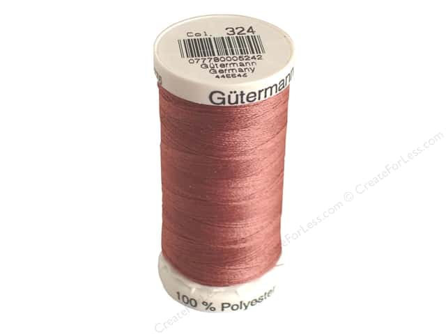 Gutermann Sew-All Thread 273 yd. #324 Dark Rose