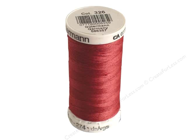 Gutermann Sew-All Thread 273 yd. #326 Rose