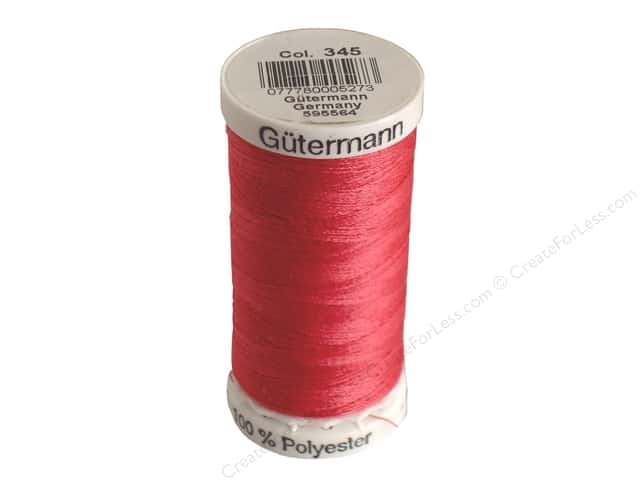 Gutermann Sew-All Thread 273 yd. #345 Raspberry
