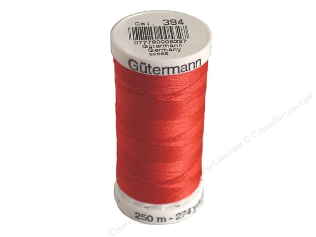 Gutermann Sew-All Thread 273 yd. #394 Peasant Red