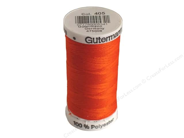 Gutermann Sew-All Thread 273 yd. #405 Flame Red