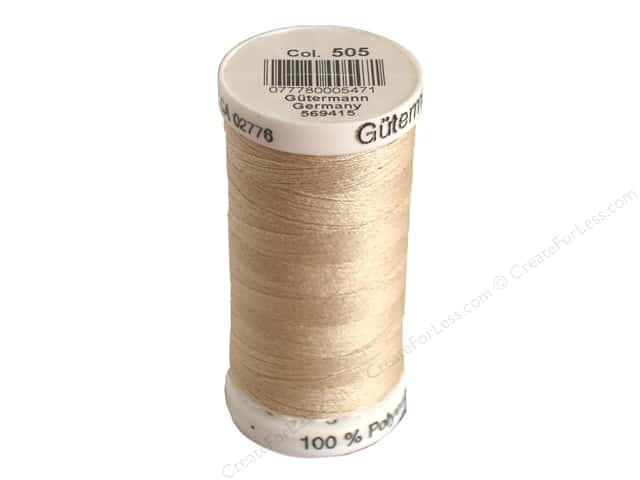 Gutermann Sew-All Thread 273 yd. #505 String Beige