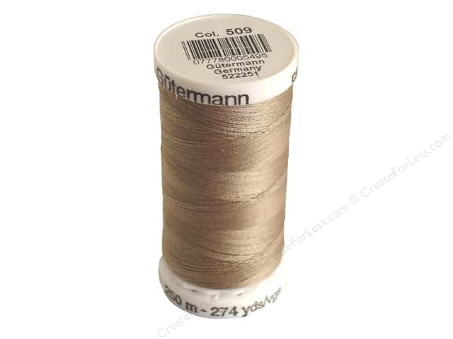 Gutermann Sew-All Thread 273 yd. #509 Beige
