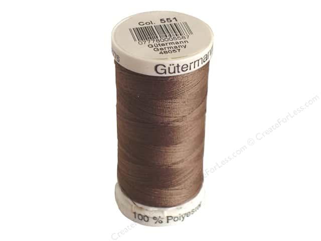 Gutermann Sew-All Thread 273 yd. #551 Cocoa