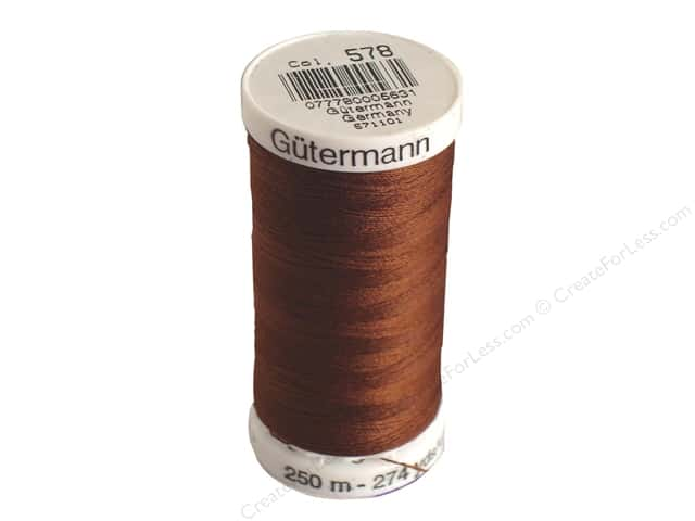 Gutermann Sew-All Thread 273 yd. #578 Chocolate