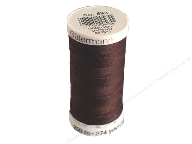 Gutermann Sew-All Thread 273 yd. #593 Seal Brown