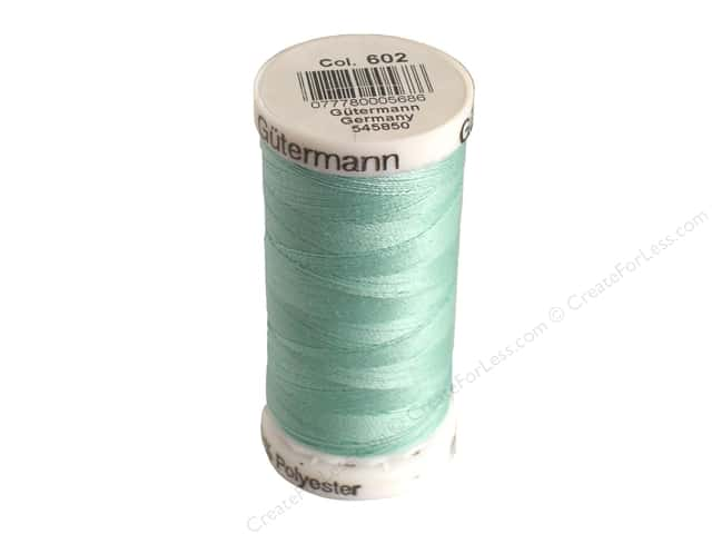 Gutermann Sew-All Thread 273 yd. #602 Aqua Mist
